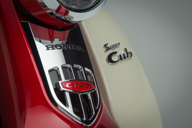 Honda Super Cub C125 motorcycle front badge