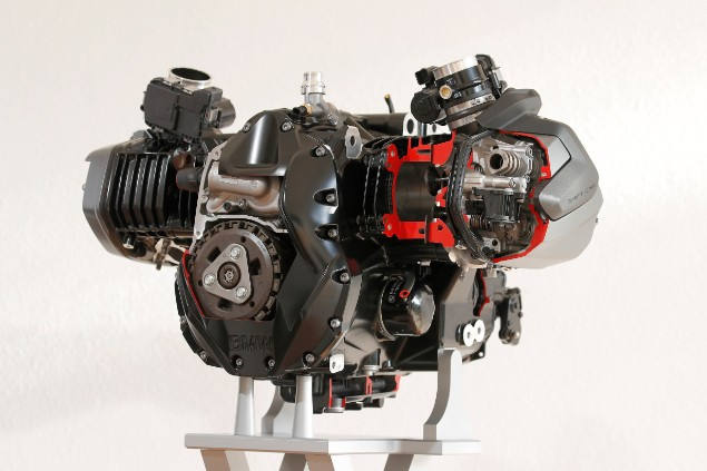 BMW R1250GS Adventure boxer engine
