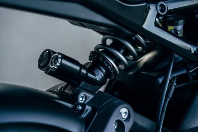 Harley-Davidson motorcycle  suspension