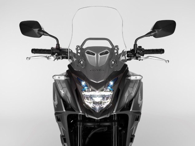 2019 Honda CB500X front stationary