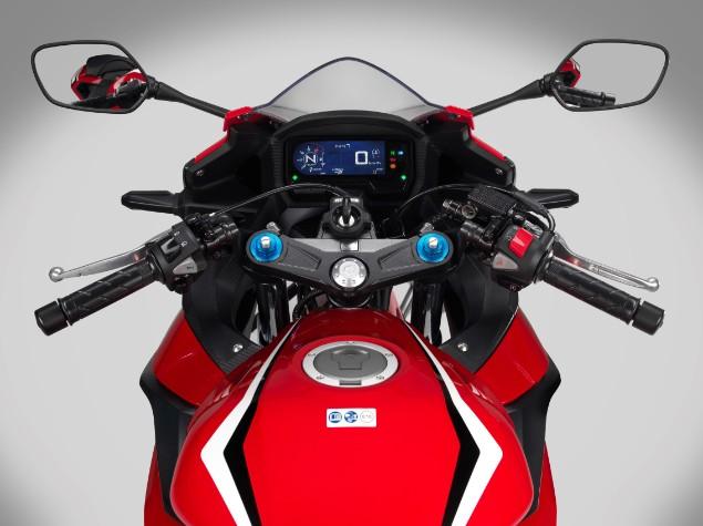 Honda CBR500R LCD dash