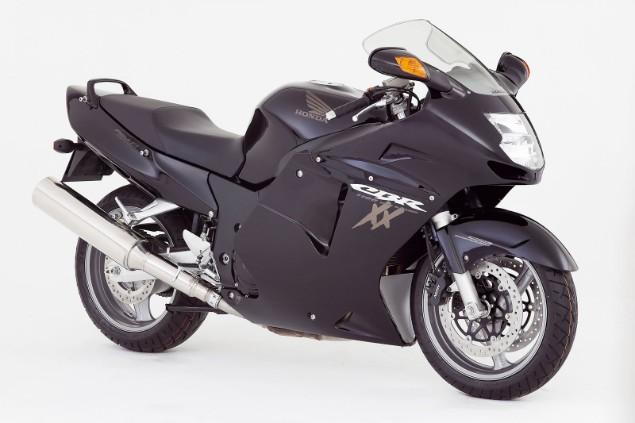 Dark grey 1996 Honda CBR 1100XX motorcycle