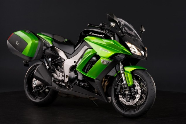 Kawasaki Z1000SX motorcycle stationary