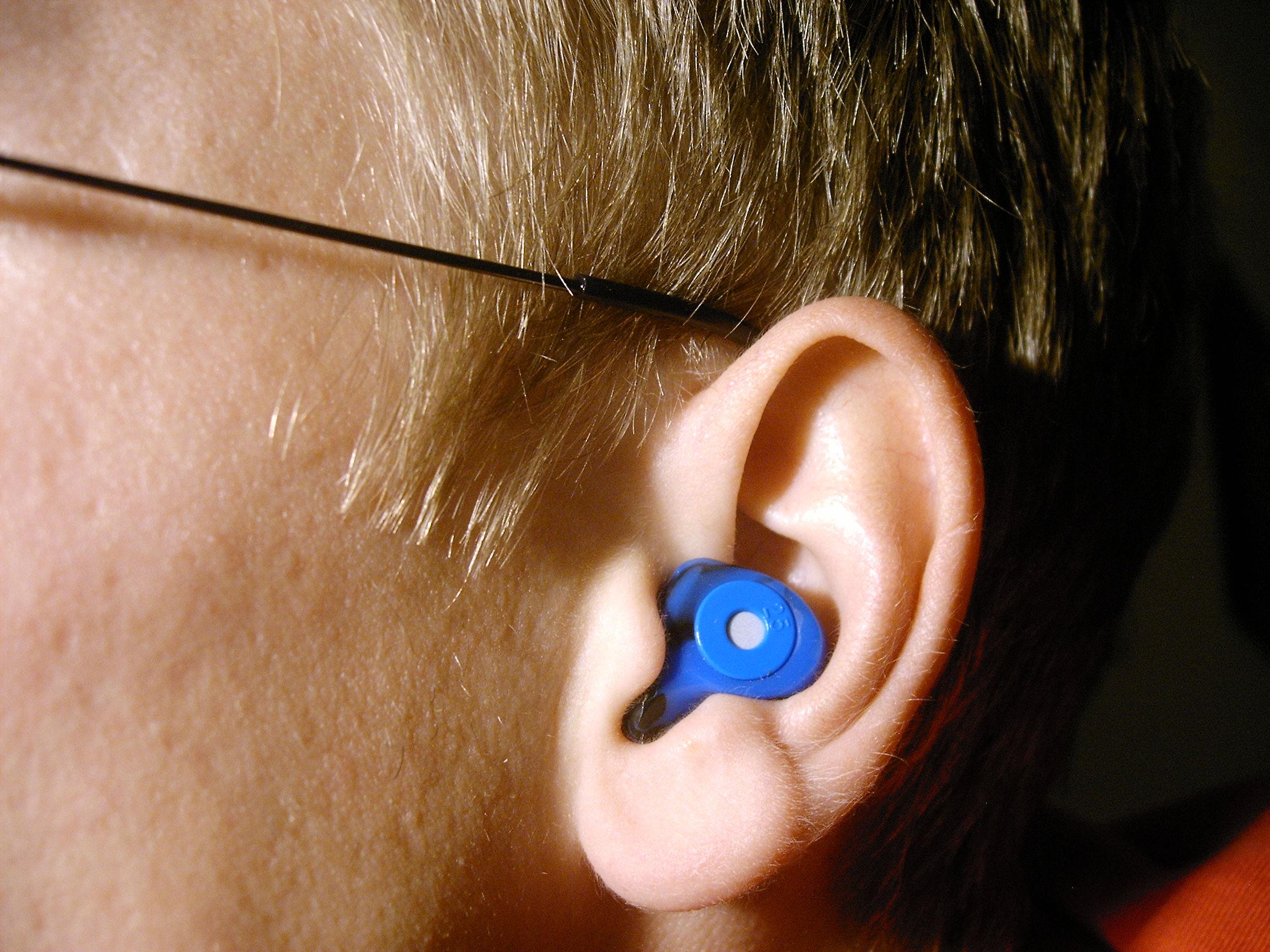 Silicone /& Foam PlugFones Guardian Series Ear Plugs with Built In Headphones