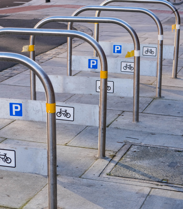 bicycle bays suitable for moped parking in London