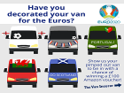 Super Fan Van Euro 2020 Prize draw - Terms and conditions