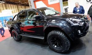 New Isuzu D-Max unveiled at Commercial Vehicle Show