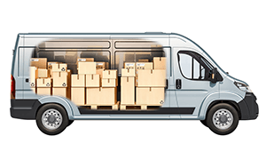 How to load and secure your van's contents