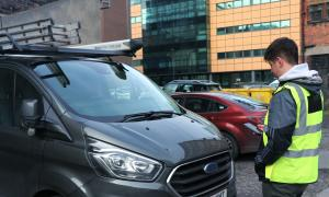 UK new van registrations halve in March