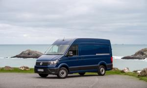VW capitalises on demand for home deliveries with Crafter van conversion