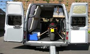 The Bike Insurer explains how to load your motorbike into your van