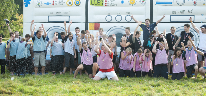 Vast Visibility 2014 Team Building celebration picture