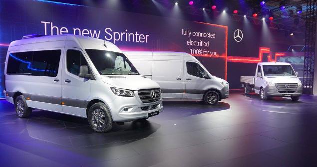 two sprinter vans