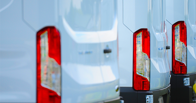 white-van-taillights-close-up-shot