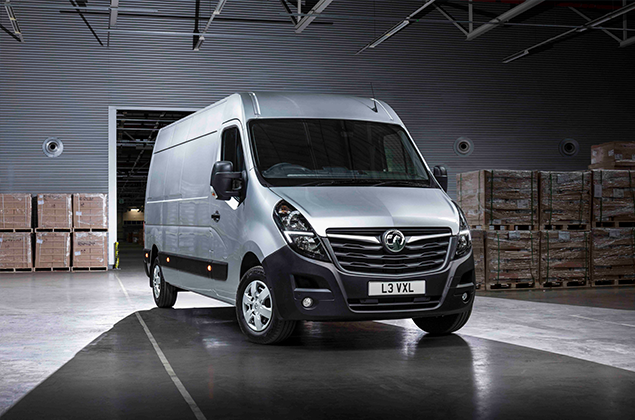 New 2019 Silver Vauxhall Opel Movano