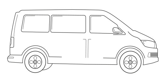 Van illustrations 4