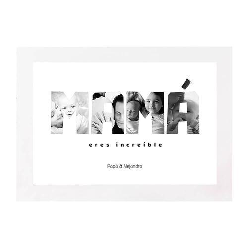 Lámina DIN A4 Familia - Mamá Increíble