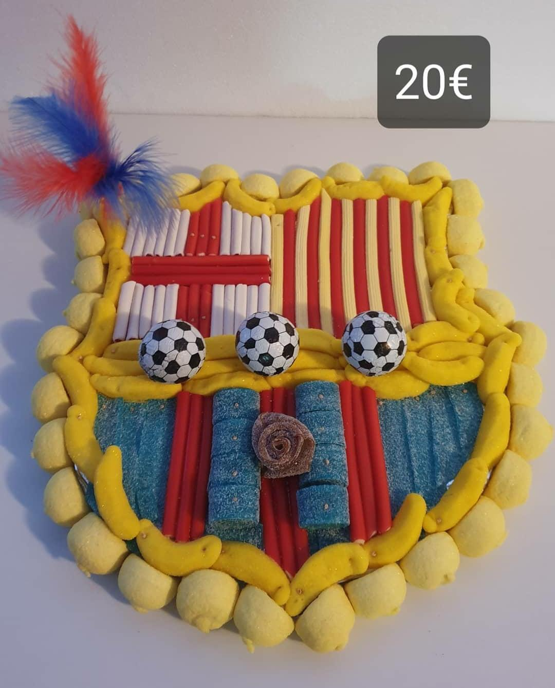 Pastís dolç del FC Barcelona
