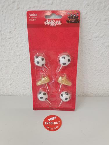 Espelmes decoratives especials futbol