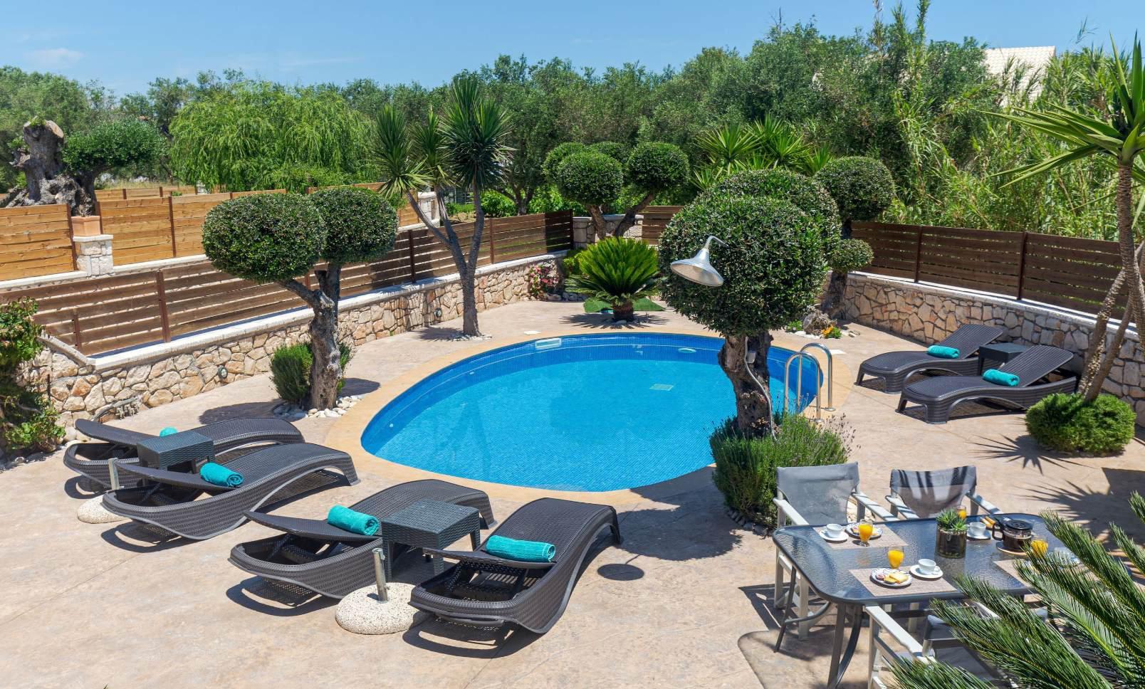 Deluxe Villa Balcony View