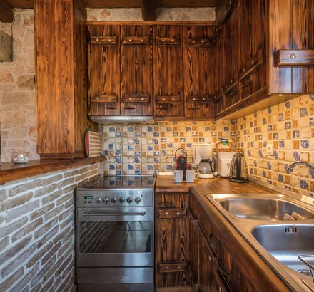 The kitchen of Tierra Olivo