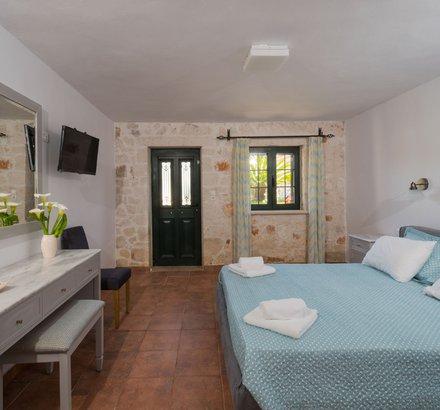 Bedroom in Tierra Olivo in Zakynthos