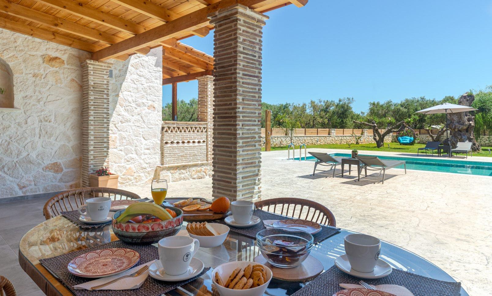 Το πρωινό στο Tierra Olivo