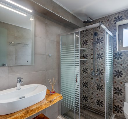 Το Μπάνιο της Superior Βίλας