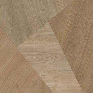 אריח גרניט פורצלן דקורטיבי בסגנון מראה עץ R10 תוצרת איטליה גימור מט גוון חום 90x90