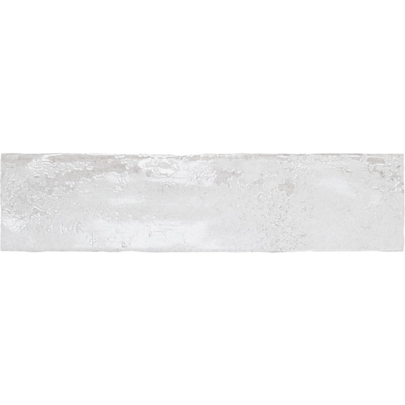 אריח בריק לחיפוי קירות גוף לבן גוון לבן גימור מבריק 7.5x30 תוצרת ספרד