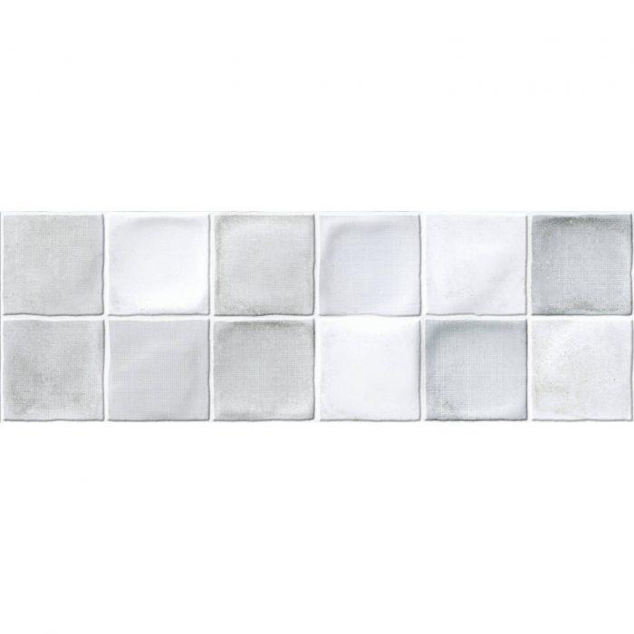 אריח דקור קוביות קרמיקה לחיפוי קירות תוצרת ספרד גוון אפור 20x60