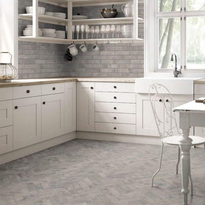 בריק גרניט פורצלן לריצוף וחיפוי מטבחים וחדרי רחצה 6x25 תוצרת איטליה