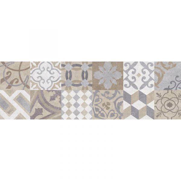 אריח דקור אריחים מצוירים קרמיקה לחיפוי קירות תוצרת ספרד 31.6X100