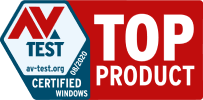 Total AV wird von AV-Test als TOP-PRODUKT eingestuft