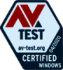 We are continuing to improve as proved by AV-Test