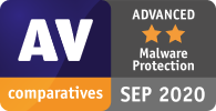 Total AV again rated as ADVANCED by AV Comparatives for malware protection