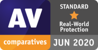 Total AV erreicht nur die Standardbewertung von AV Comparatives