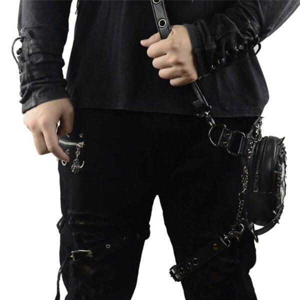 Gothic Steampunk Skull Bag 2019 Women Messenger Bag Leather Rivet Waist Leg Bags Fashion Retro Rock Motorcycle Leg Bag for Men Our British Brands Selected Brands Timelord Clothing UK cb5feb1b7314637725a2e7: Black-A21|GTLY-BF1601|GTLY-FGB01|GTLY-FGB06|GTLY-FGB07|GTLY-FGB09|GTLY-KLB01|GTLY-KLB1603|GTLY-KLB1609|GTLY-KLB1612|GTLY-PJB02|GTLY-XB1619|GTLY-XYB1620|GTLY-YAOBAO02|GTLY-YB-1605|GTLY-YB1604|GTLY-YB1611|GTLY-YB1618|GTLY-ZZ1615