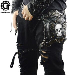 Gothic Steampunk Skull Bag 2019 Women Messenger Bag Leather Rivet Waist Leg Bags Fashion Retro Rock Motorcycle Leg Bag for Men Our British Brands Selected Brands Timelord Clothing UK cb5feb1b7314637725a2e7: Black-A21|GTLY-BF1601|GTLY-FGB01|GTLY-FGB06|GTLY-FGB07|GTLY-FGB09|GTLY-KLB01|GTLY-KLB1603|GTLY-KLB1609|GTLY-KLB1612|GTLY-PJB02|GTLY-XB1619|GTLY-XYB1620|GTLY-YAOBAO02|GTLY-YB-1605|GTLY-YB1604|GTLY-YB1611|GTLY-YB1618|GTLY-ZZ1615