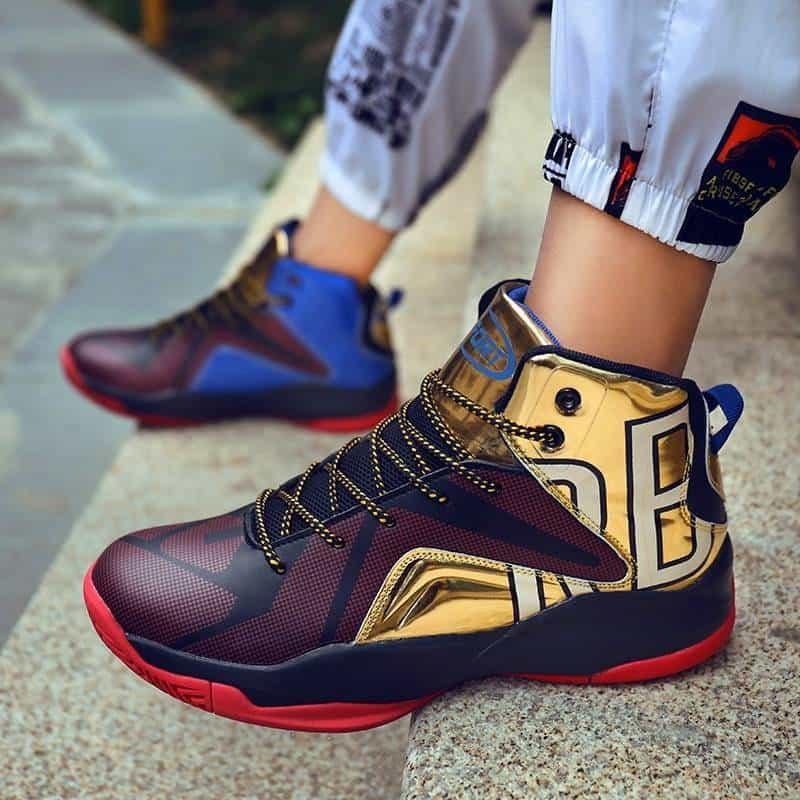 lightweight high top shoes