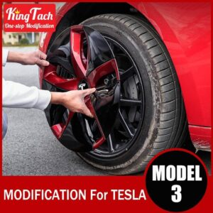 High-performance Wheel Hub Cover For Tesla MODEL 3 Modification Trim Rinng Decorative Exterior Modified Accessories Car Mats Home Decor & Accessories