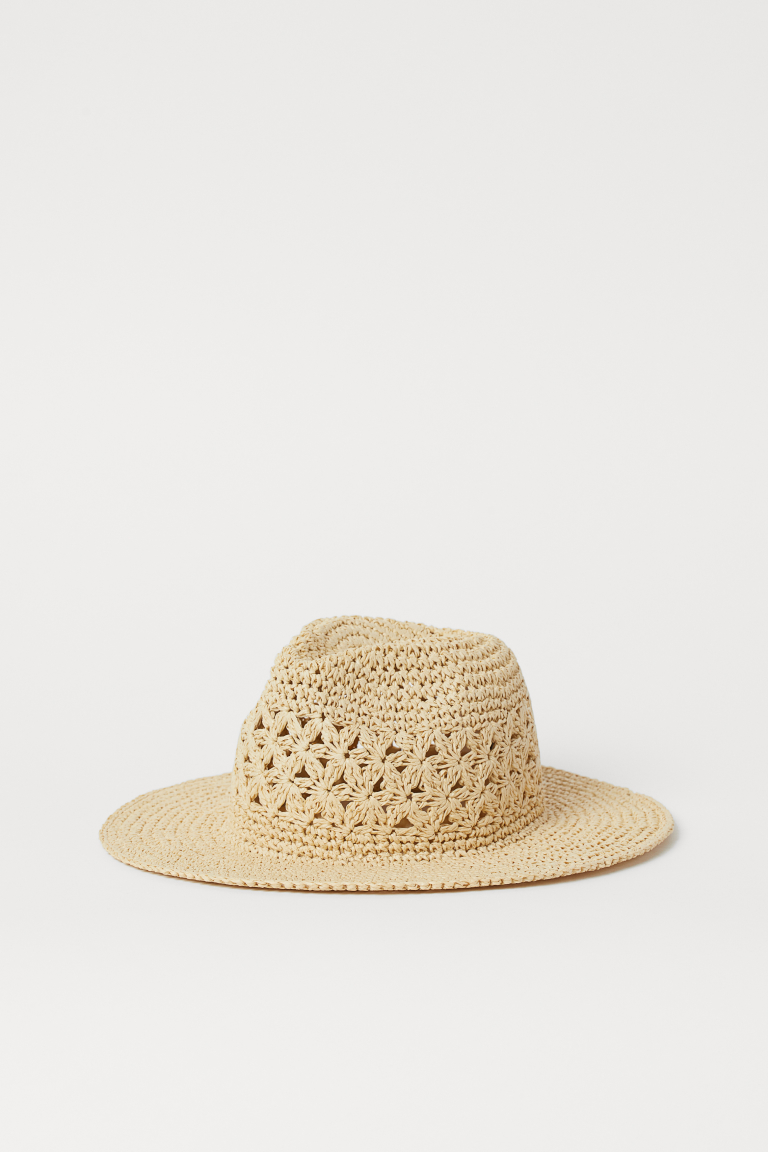H&M Straw Hat - Light beige