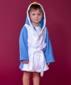 "Дитячий махровий халат ""Пепе"". 100% бавовняна махра"