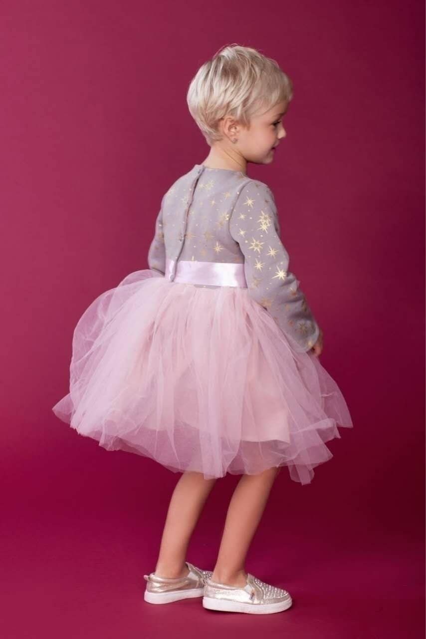 """Плаття для дівчинки святкове """"Зіронька"""" – Tiny Heart Brand ... 3fd42b6127e32"""