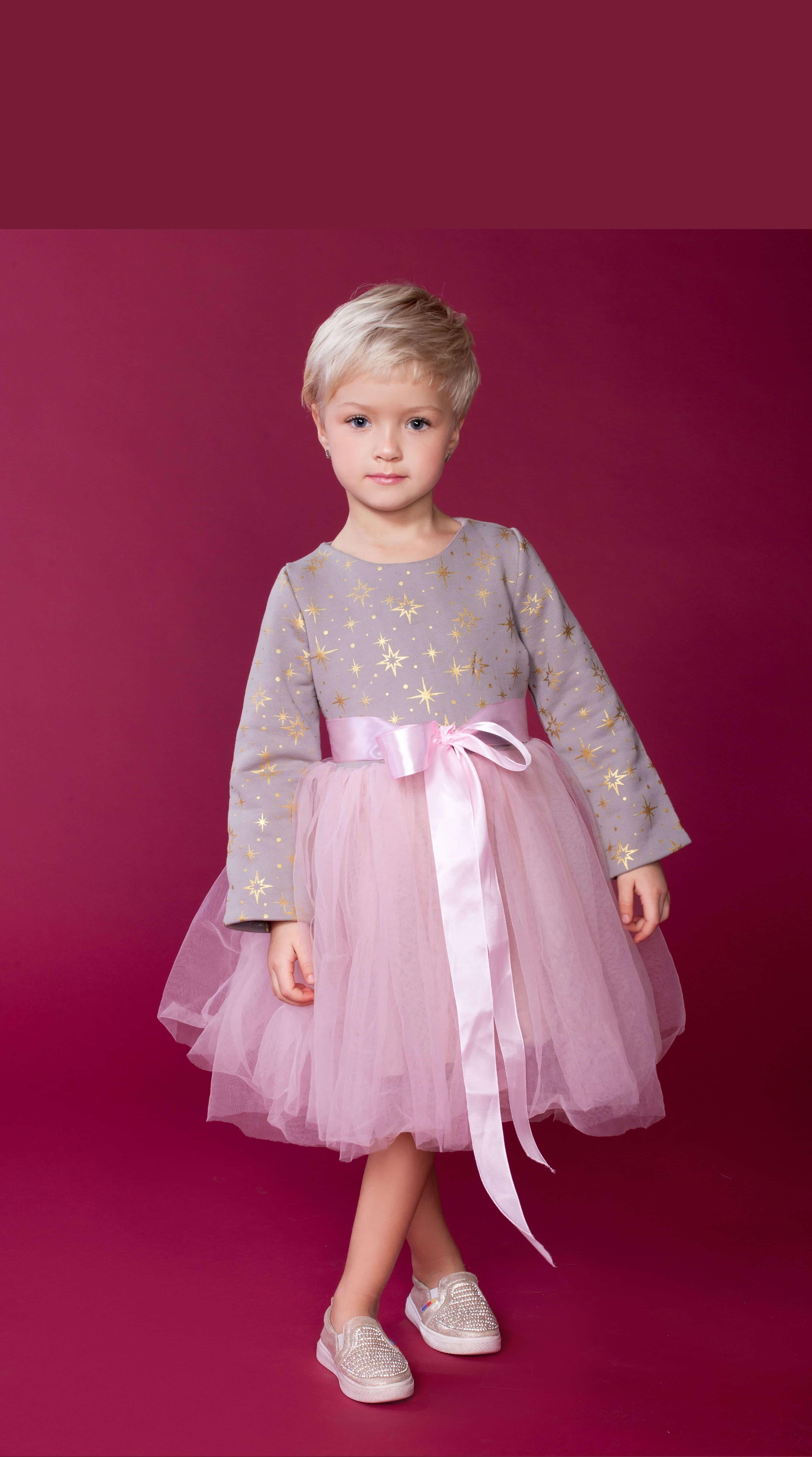 """Плаття для дівчинки святкове """"Зіронька"""" – Tiny Heart Brand ... 6f0db66775670"""