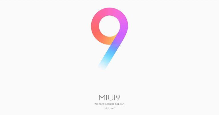 MIUI 9发布日期确定!