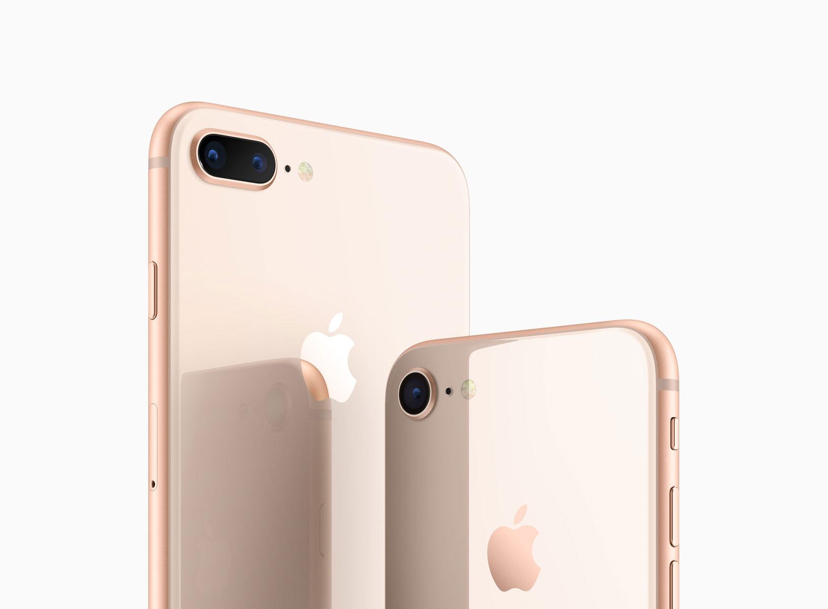 iPhone 8 and iPhone 8 Plus采用玻璃材质背板