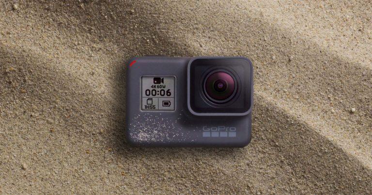 GoPro发布HERO6 Black运动相机,全新处理器支援4K 60fps录影
