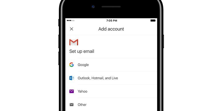 iOS版Gmail应用程序将新增管理第三方电邮账户的功能