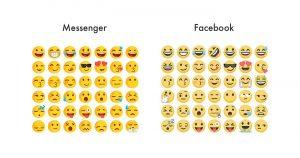 Facebook将旗下服务的Emoji进行统一